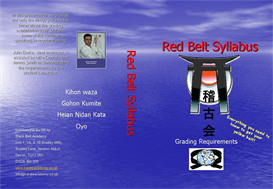 Red Belt Syllabus | Movies and Videos | Educational