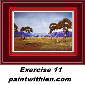 11 paint outback  ranges