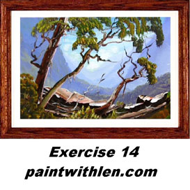 14 Paint Rugged Mountains | Movies and Videos | Arts