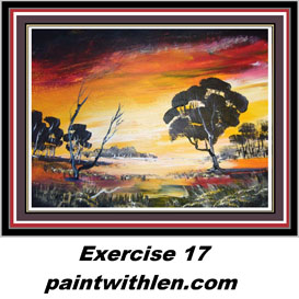 17 Paint a Sunset. | Movies and Videos | Children's