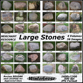 Large Stones - Complete 4-Volume Set | Photos and Images | Nature