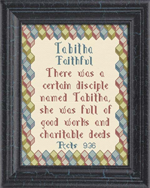 Name Blessings - Tabitha | Crafting | Cross-Stitch | Religious