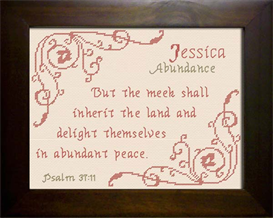 name blessings -  jessica 4