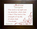 Name Blessings -  Andrew 4 | Crafting | Cross-Stitch | Religious