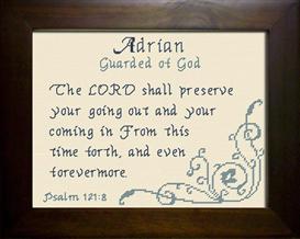 name blessings -  adrian 2