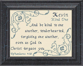 name blessings -  kevin 2