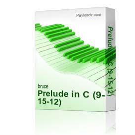prelude in c (9-15-12)