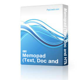 memopad (text, doc and html editor app for ms word)