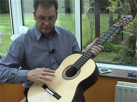 tone production on the classical guitar part two