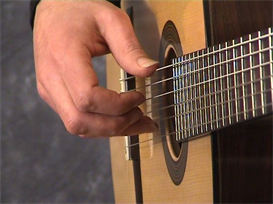 how to play romance on the classical guitar