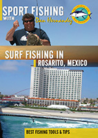 sportfishing with dan hernandez surf fishing in rosarito, mexico