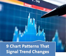 9 chart patterns that signal trend changes