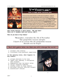 v for vendetta, whole-movie english (esl) lesson