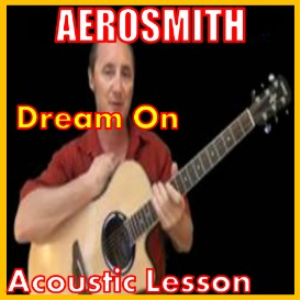 learn to play dream on by aerosmith