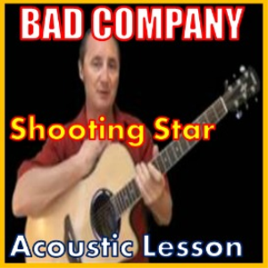 learn to play shooting star by bad company