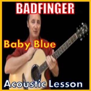 learn to play baby blue by badfinger