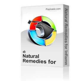dr. ali's course on healing seminar 6 * natural anti-inflammatory remedies