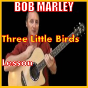 Learn to play Three Little Birds by Bob Marley | Movies and Videos | Educational