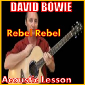 learn to play rebel rebel by david bowie