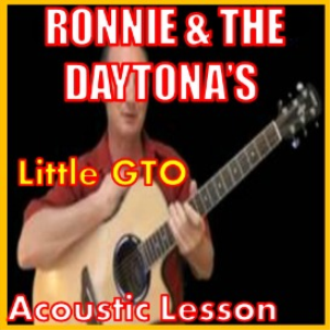 Learn to play Little GTO by Ronny And The Daytonas | Movies and Videos | Educational