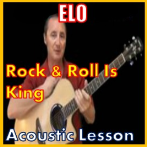 learn to play rock and roll is king by elo
