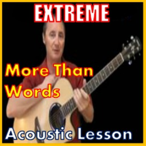 learn to play more than words by extreme