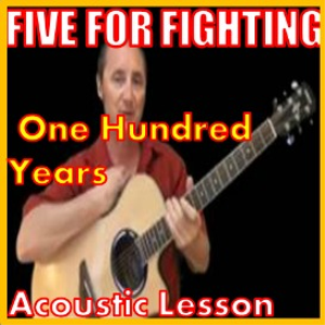learn to play 100 years by five for fighting