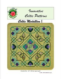 celtic medallion i applique pattern