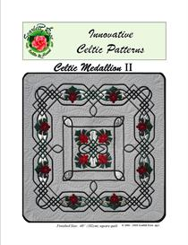 celtic medallion ii applique pattern