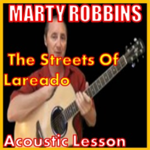 learn to play the streets of lareado by marty robbins
