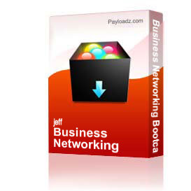 business networking bootcamp