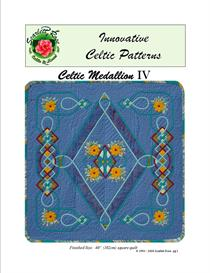 celtic medallion iv applique pattern