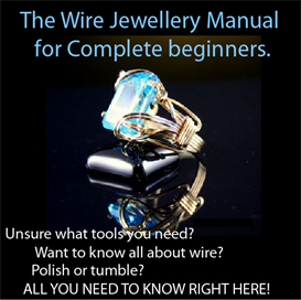 the wire jewellery manual for complete beginners.