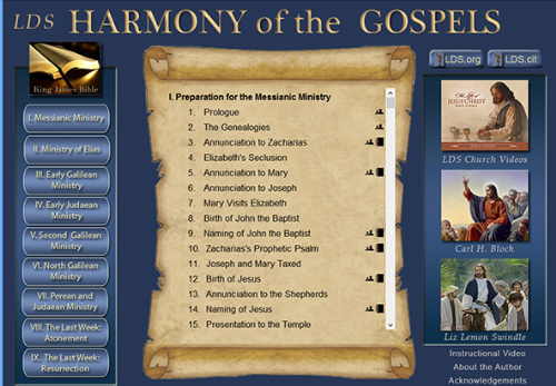 Fifth Additional product image for - Harmony of the Gospels (Mac OSX Version)
