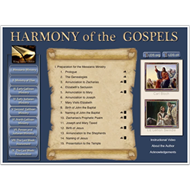 harmony of the gospels (mac osx version)