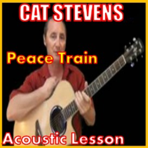 learn to play peace train by cat stevens
