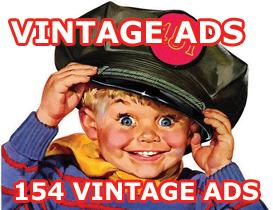 vintage radio ads