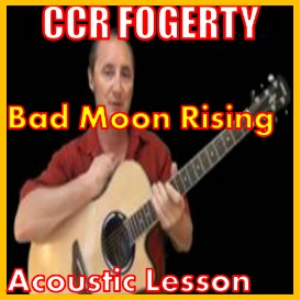 learn to play bad moon rising by ccr