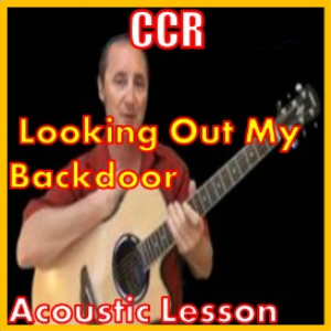 learn to play looking out my back door by ccr