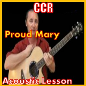 learn to play proud mary by ccr