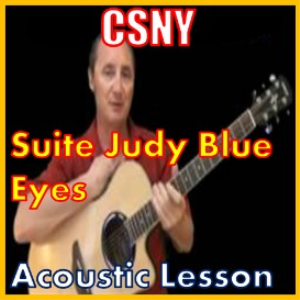 Learn to play Suite Judy Blue Eyes by CSN | Movies and Videos | Educational