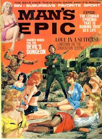man's epic magazine, dec. 1964 (complete issue)