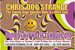 pontypridd rfc comedy hypnotist show 1hr