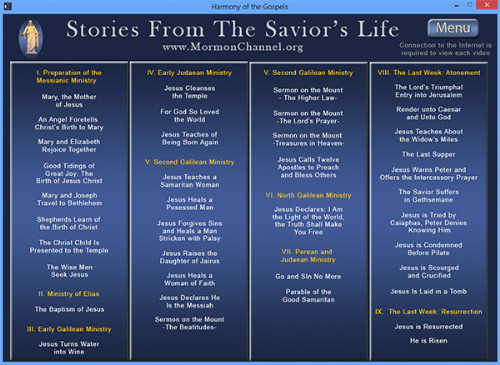 Fifth Additional product image for - Harmon of the Gospels (Windows Version)