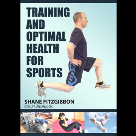 training and optimal health for sport