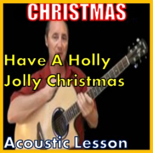 learn to play holly jolly christmas by burl ives (kproducts)