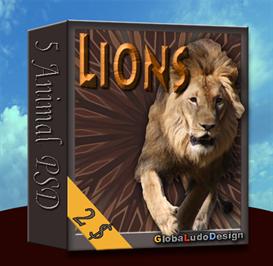 lion psd