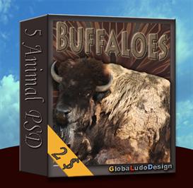 american buffalo psd