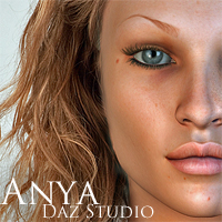 anya for daz studio