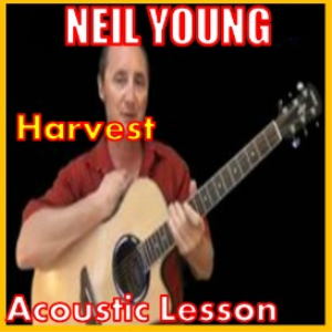 learn to play harvest by neil young